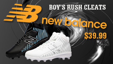 New Balance Boys Rush Football and Lacrosse Cleats